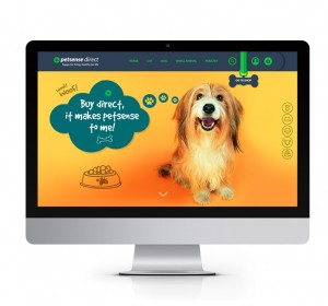 <span>Petsense ecommerce website</span><i></i>