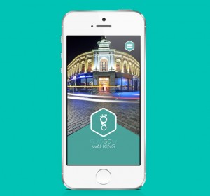 <span>Active Travel &#8211; Walking app</span><i></i>